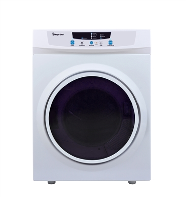Magic Chef Mcsdry35w Portable Compact Electric Dryer 3 5